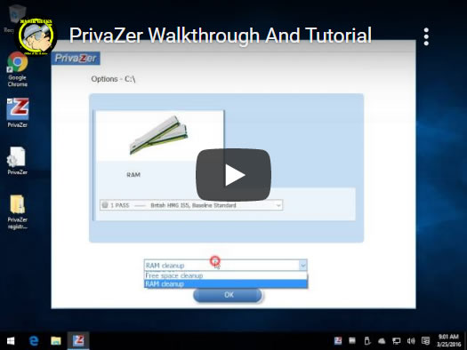 PrivaZer tutorial